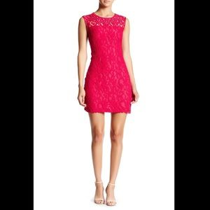 Pink dress size 2 adrianna papell